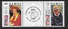 SAMOA SG861a 1991 ROYAL BIRTHDAYS MNH