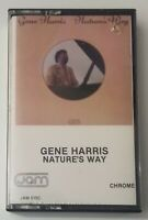 Gene Harris Cassette Natures Way 1984 Jam Records Tape