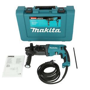 Makita Bohr- und Stemmhammer HR2470 780 W SDS Plus im Transportkoffer