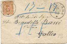 P7119   Nuoro, Bolotana, ann. numerale a sbarre 1890