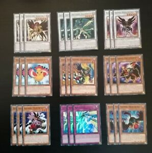 YuGiOh! Blackwing Deck Core 37 Cards Near Mint Condition