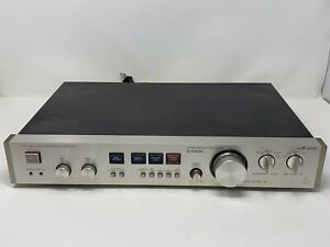 Vintage Luxman Stereo Preamp PREAMPLIFIER CX-100 Ultimate Fidelity Made In Japan