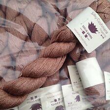 Lotus Yarns - Silky Cashmere Fingering shade 14 Cork (price per 55g skein)