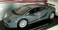 MOTORMAX 1/18 Scale - 73181 LAMBORGHINI GALLARDO SUPERLEGGERA - GREY
