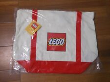 NEW! LEGO CANVAS TOTE Exclusive Gift With $200 Purchase Promotion Large Logo Bag