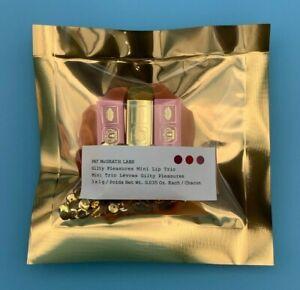 Pat McGrath Guilty Pleasures Mini Lip Trio Matte 3 Pc Lipstick Set NEW SEALED