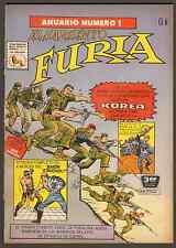"""1966 Marvel Comics """"Sargento Furia y sus Comandos"""" Annual #1 - (Grade 5.5) WH"""