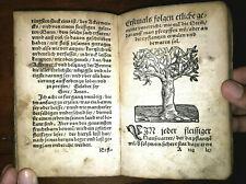 Sammelband 7Werke,Arzneibuch,Hebammen Rosengarten,Baumgarten,Lutherschrift,16.Jh
