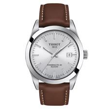 Tissot Gentleman Powermatic 80 Silicium Silver Dial Men Watch T127.407.16.031.00