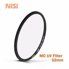NiSi 52mm Ultra Slim MC UV Camera Lens Filter F Pentax Olympus Fuji Nikon Canon
