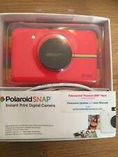 Polaroid Snap Instant Print 10MP Camera - Red - Fully Boxed