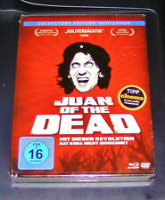 JUAN OF THE DEAD MEDIABOOK COLLECTORS EDITION BLU RAY + DVD  NEU & OVP