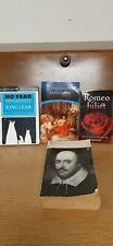 William shakespeare books lot of 4