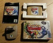 Nintendo 64 N64 game Pokemon Stadium 2 + Transfer Pak