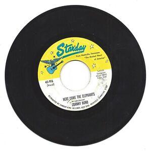 Johnny Bond Here Come the Elephants /  Take Me Back to Tulsa 45 RPM Rock VG+