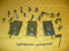 Vintage Army Lot ~ 3 TIMMEE Tanks,  19 Timmee Men & Accessories