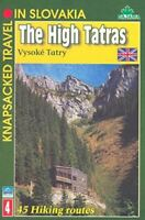 , The High Tatras (Knapsacked Travel in Slovakia, Volume 4), Like New, Paperback