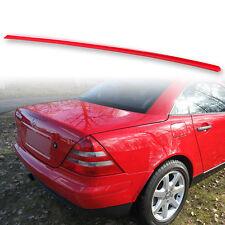 Fyralip Trunk Lip Spoiler For Mercedes Benz SLK R170 98-04 Painted Magma Red 586
