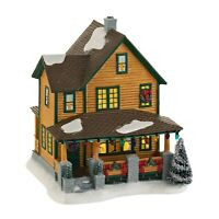 Christmas Story Ralphie's House with Leg Lamp Dept 56 4029245 BRAND NEW