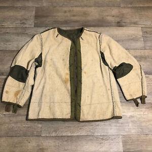 Vintage M51 Wool Fishtail Parka Frieze Pile Jacket Liner - See Measurements