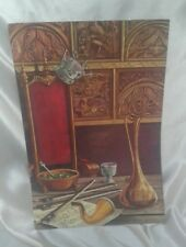 Vintage/Antique Menu King Cole Restaurant Indianapolis IN & Dayton OH Colorful!!
