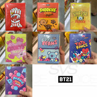 BTS BT21 Official Authentic Goods Spring Note Snack Ver 130x175mm 80P