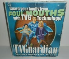 Tv Guardian The Foul Language Filter Model 201 Tvg Technology Made Korea Mouths