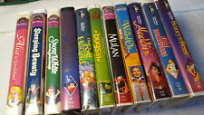 11 Walt Disney VHS collection, 4 Black diamond, Rare Video Cassette tapes, VF