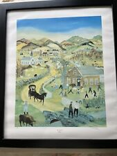Will Moses Mary's Little Lamb Ltd. Edition Signed Lithograph - Framed - RARE