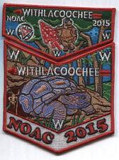 Withlacoochee Lodge 98 Two Part 2015 NOAC Set - OA Centennial Set