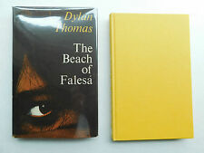 DYLAN THOMAS The Beach at Falesa 1st edition 1963 hard cover unclipped DJ