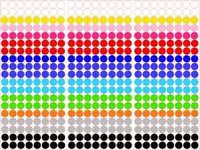 (0,055€/Stk) 32 Stk Klebepunkte - Markierungspunkte 20mm Aufkleber Inventur