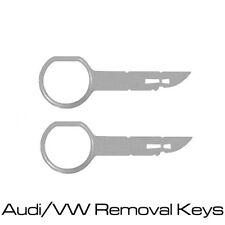CT22AU01 - Audi Car Stereo Radio Release Removal Keys
