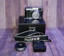 Fujifilm X100S 16.3MP Digital Camera - Silver - MINT