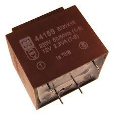 myrra MY44159 Trafo 230V Printtrafo 2,3VA 12V Netztrafo Transformator 107602