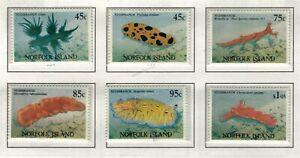 Norfolk Island, Scott 538 - 543 in MNH Condition