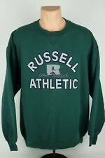"""Vintage Russell Athletic Embroidered """"Get Tough"""" XXL Crewneck Sweatshirt USA 2XL"""