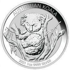 AUSTRALIE 1 Dollar Argent 1 Once Koala 2021