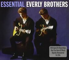 Everly Brothers Essential 2-CD NEW SEALED Cathy's Clown/Claudette/Bye Bye Love+