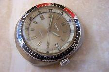 Un Huma Automatico Divers Calendario Orologio da polso C. primi anni 1970 ha bisogno di un servizio