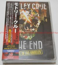MOTLEY CRUE THE END LAST LIVE IN LOS ANGELES Limited Edition 2 Blu-ray CD Japan
