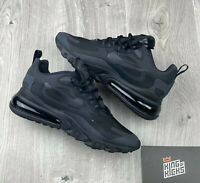 NIKE AIR MAX 270 REACT TRIPLE  BLACK UK 6 EU 39 US 6.5 CI3899 003 NEW