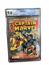 Captain Marvel #30 CGC The Most Comic Superhero Of All 9.0