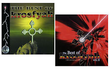The Best of KROSFYAH - 2 New Factory Sealed CD's - Vol 1 & Vol 2 * SOCA Barbados