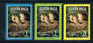 Costa Rica 1979 International Year of the Child **/MNH SG 1132-4