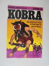 Comic Heft Kobra Nr.19 (1976) eingetütet & geboardet Zustand 2