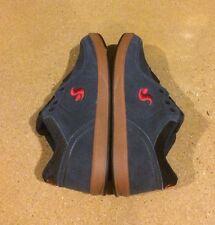 DVS Endeavor Size 10 Navy Gum Suede BMX DC Skate Shoes Sneakers Argon Vaporcell
