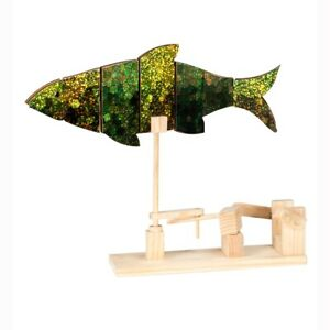 Timberkits Fish Starter Kit Wooden Moving Model Self Assembly Construction Gift