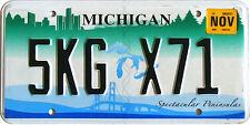 Michigan SPECTACULAR PENINSULA License Plate