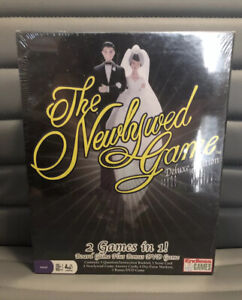 The Newlywed Game For Couples Deluxe Edition Board Game + DVD New In Box Sealed